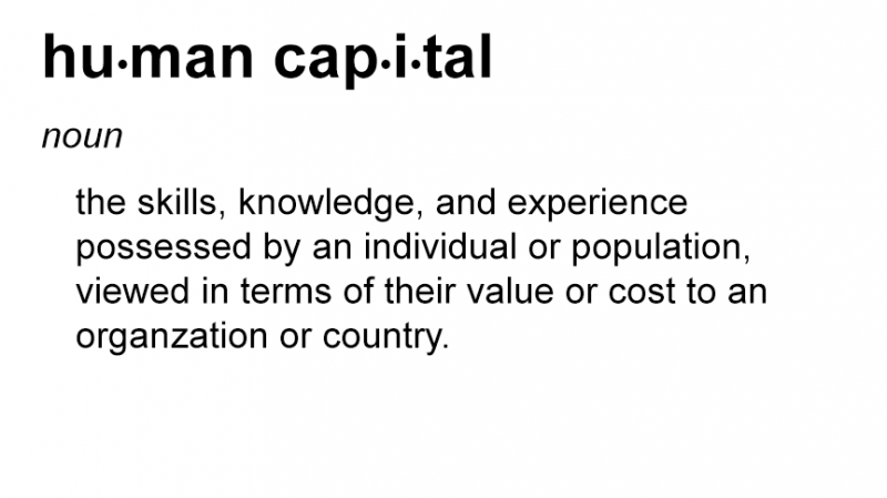 Bad Word of the Day: Human Capital