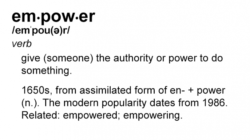 Bad Word of the Day: Empowerment