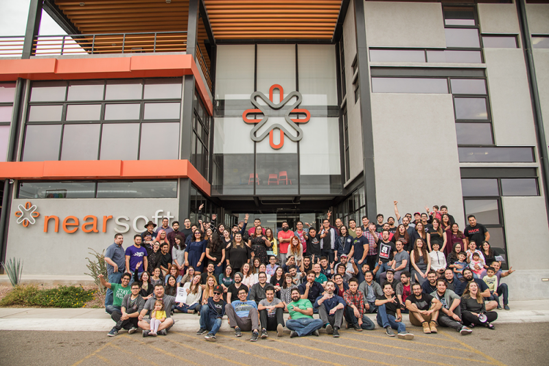 Nearsoft group shot